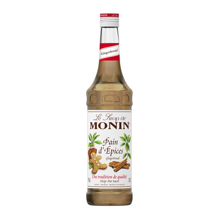 Monin Gingerbread - Syrop Piernikowy 0,7L