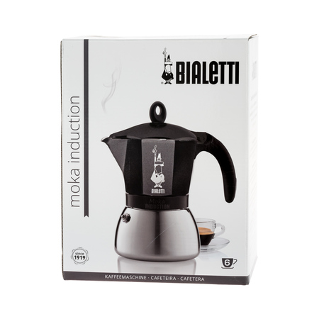 Bialetti Moka Induction 6tz Czarna