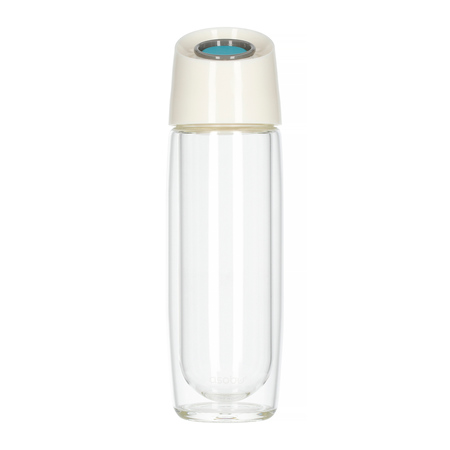 Asobu - Simply Clear Turkusowy - Butelka 400 ml