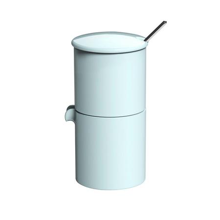 Loveramics Bond - Cukiernica + dzbanek na mleko + łyżeczka - River Blue