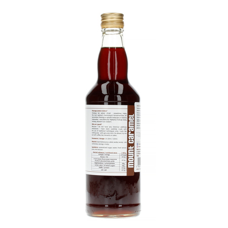 Mount Caramel Dobry Syrop - Miętowy 500 ml