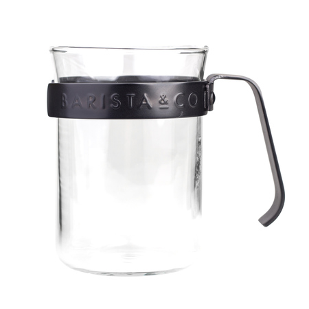 Barista & Co - Metal Framed Cups Gunmetal - Kubki 2 szt.