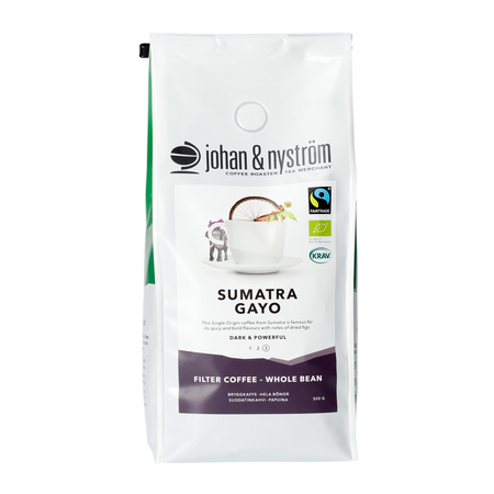 Johan & Nyström - Sumatra Gayo Mountain Fairtrade 500g