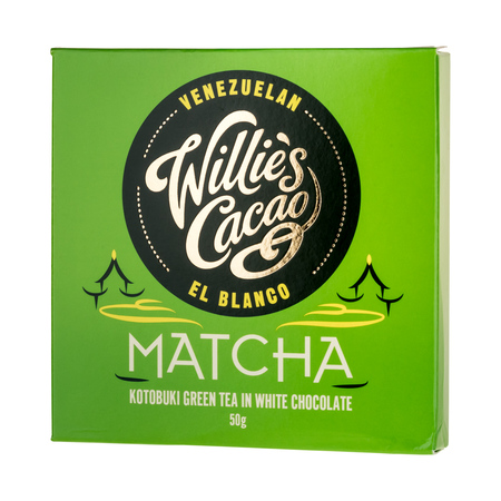 Willie's Cacao - Czekolada - Matcha Kotobuki Green Tea 50g