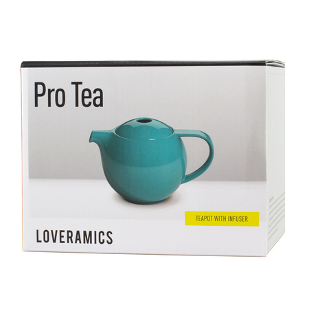 Loveramics Pro Tea - Dzbanek z zaparzaczem 600 ml - Teal (outlet)
