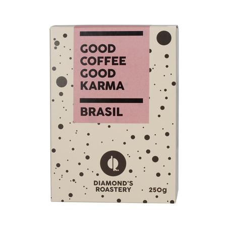 Diamonds Roastery Brazil Five Estrellas Natural ESP 250g, kawa ziarnista (outlet)