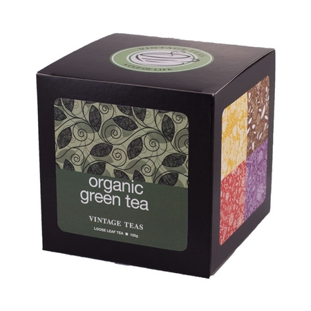 Vintage Teas Organic Green Tea 100g