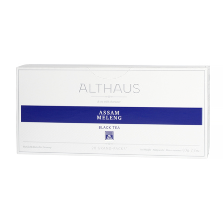 Althaus - Assam Meleng Grand Pack - Herbata 20 dużych saszetek