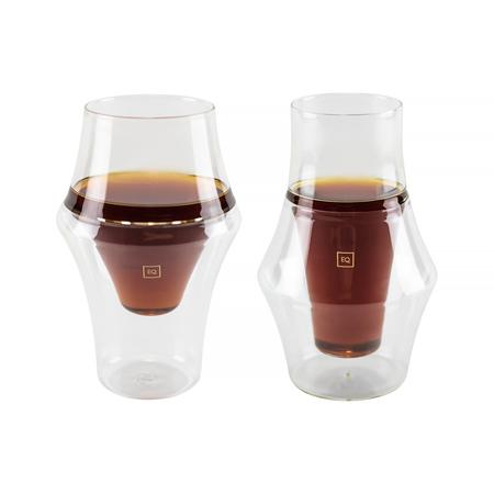Kruve - EQ Glass - Zestaw dwóch szklanek - Excite & Inspire