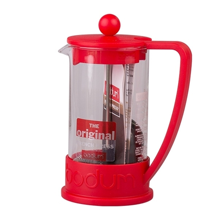 Bodum French Press Brazil 350ml czerwony