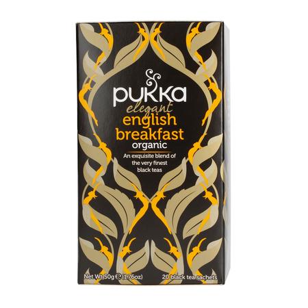 Pukka - Elegant English Breakfast BIO - Herbata 20 saszetek