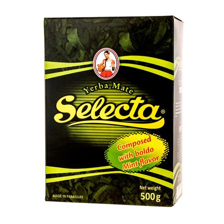 Selecta Compuesta Boldo y Menta - yerba mate 500g