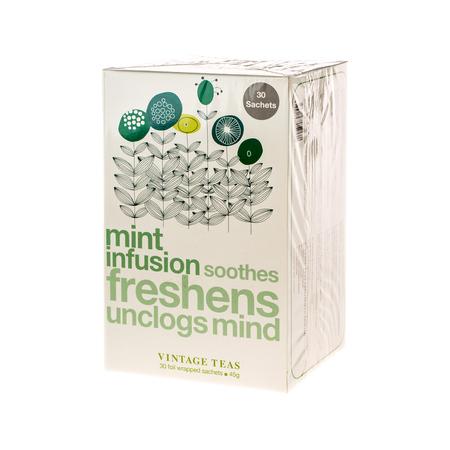 Vintage Teas Mint Infusion - 30 torebek