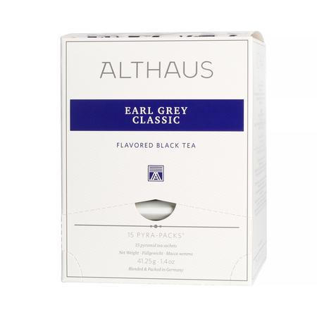 Althaus - Earl Grey Classic Pyra Pack - Herbata 15 piramidek