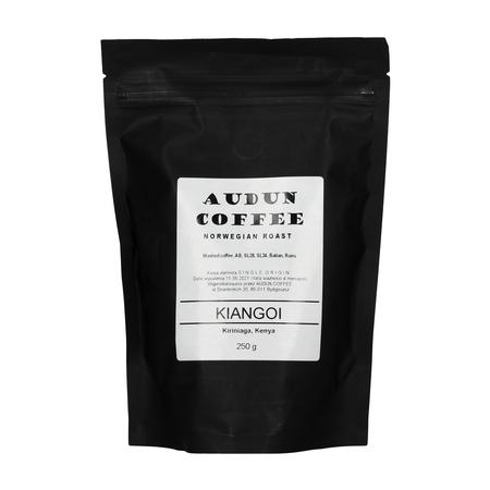 Audun Coffee Kenya Kirinyaga Kiangoi AB Washed FIL 250g, kawa ziarnista (outlet)