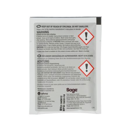 Sage - Środek do czyszczenia dysz parowych 10 x 10g