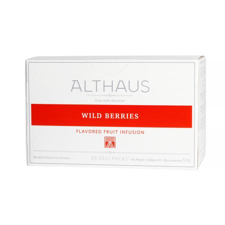 Althaus - Wild Berries Deli Pack - Herbata 20 saszetek