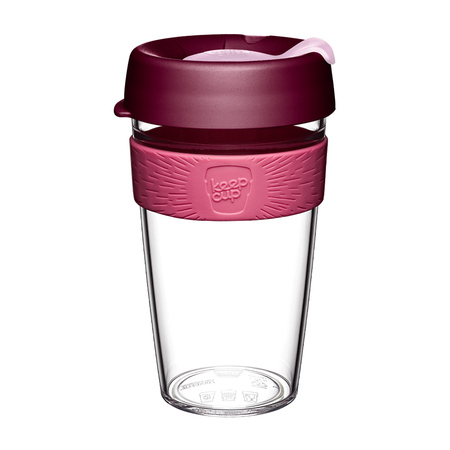 KeepCup Orginal Clear Bayberry 454ml
