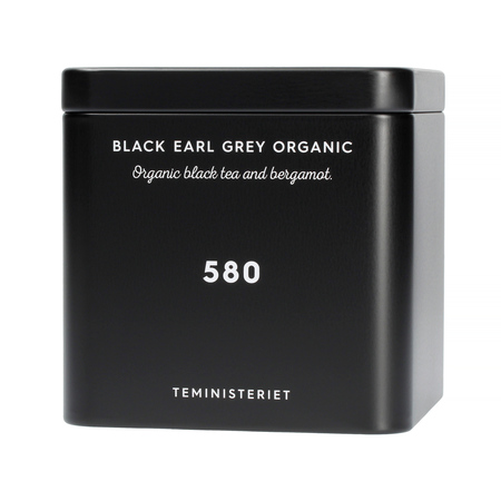 Teministeriet Collection 580 Black Earl Grey Organic 100g (outlet)