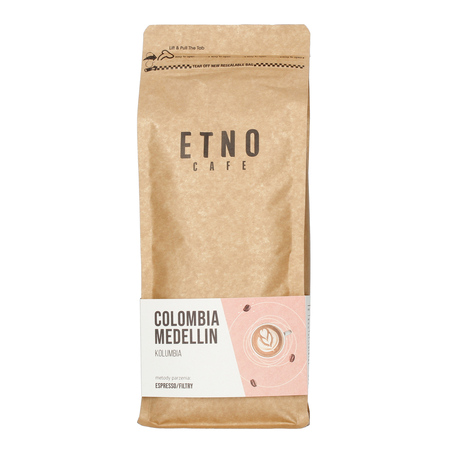 Etno Cafe Colombia Medellin 1kg (outlet)