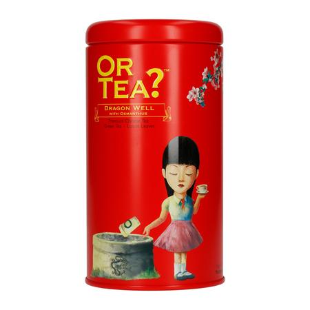 Or Tea? - Dragon Well with Osmanthus - Herbata sypana - Puszka 90g