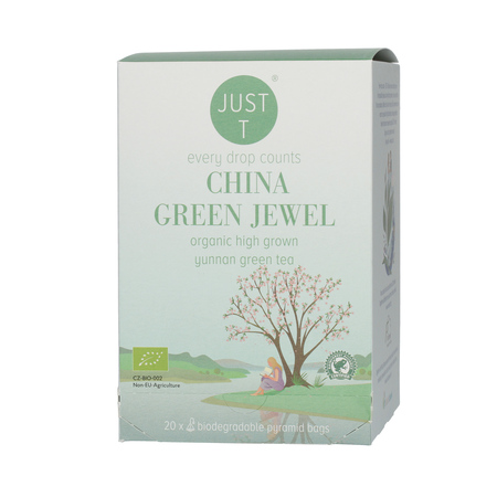 Just T - China Green Jewel - 20 Torebek