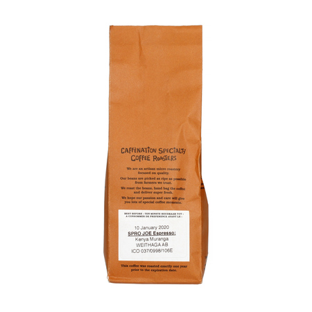 Caffenation - SPRO JOE Kenya Muranga Weithaga AB Espresso