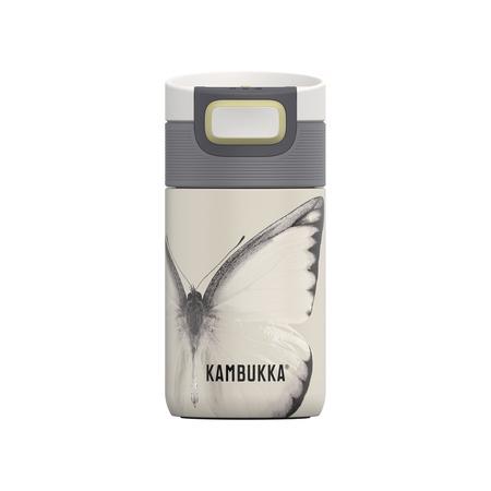 Kambukka - Kubek termiczny Etna - Yellow Butterfly 300 ml