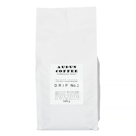 Audun Coffee - Drip no. 2 Brazylia Fazenda Monte Belo 1kg