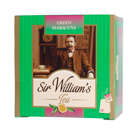 Sir Williams herbata Green Maracuja 50 saszetek (outlet)
