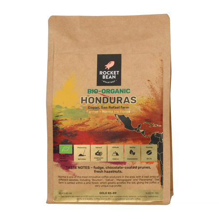 Rocket Bean - Honduras Copan San Rafael Farm Natural