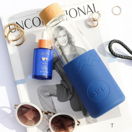 Sol - Niebieska butelka + Wycior + Etui