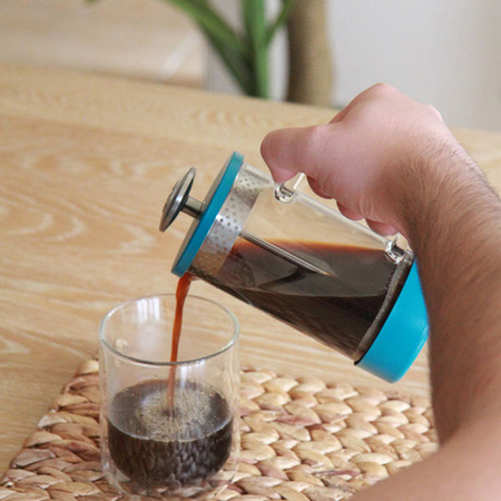 Barista & Co - 3 Cup Core Teal - Coffee Press