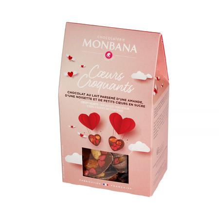 Monbana - Walentynkowe Chrupiące Serca 96g