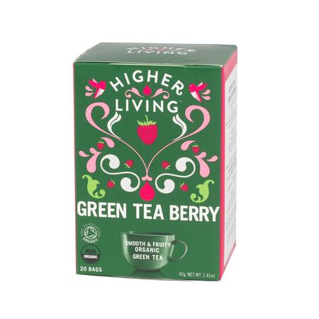 Higher Living Green Tea Berry - herbata - 20 saszetek