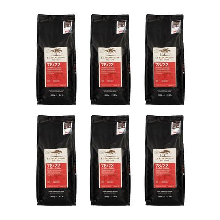 Zestaw Le Piantagioni del Caffe 78/22 1kg 5 + 1 Gratis