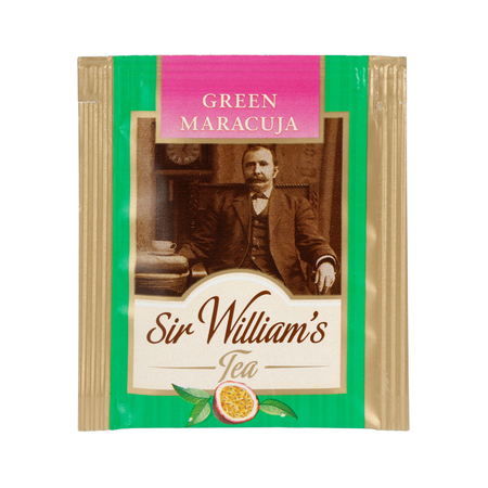 Sir William's - Green Maracuya - Herbata 50 saszetek