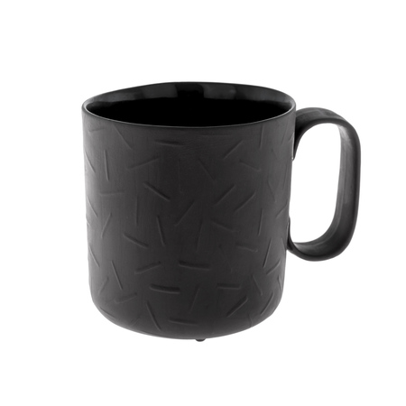 ENDE - Kubek 250ml - Sprinkle z czarnej porcelany