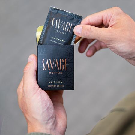 Savage Coffees - Anthem Instant Geisha - 7 saszetek