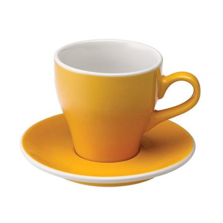 Loveramics Tulip - Filiżanka i spodek Cafe Latte 280 ml - Yellow