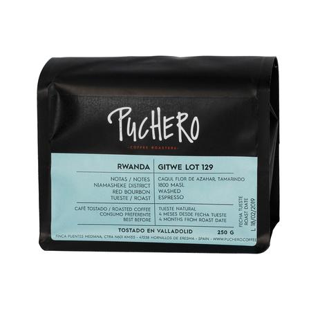 Puchero Coffee - Rwanda Gitwe Lot 129 Espresso
