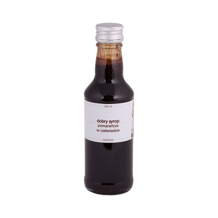 Mount Caramel Dobry Syrop - Pomarańcza w czekoladzie 200 ml