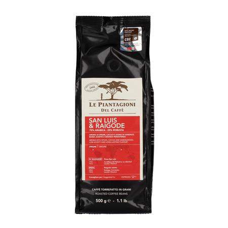 Le Piantagioni del Caffe - San Luis & Raigode 500g