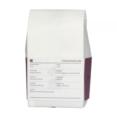 Five Elephant - Ethiopia Guji Highland Filter