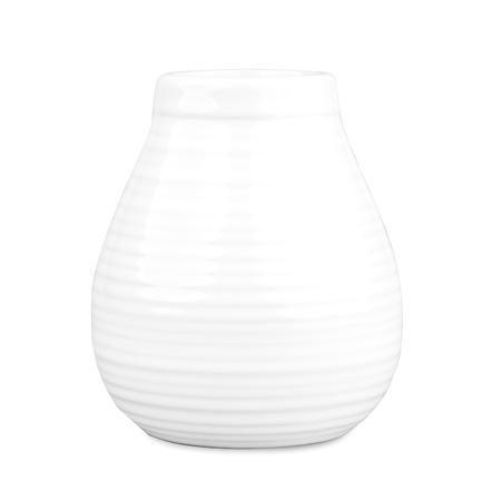 Mate Rustico - Ceramiczne  naczynie do yerba mate - Białe