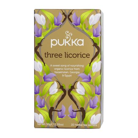 Pukka - Three Licorice BIO - Herbata 20 saszetek