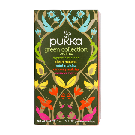 Pukka - Green Collection BIO - Herbata 20 saszetek