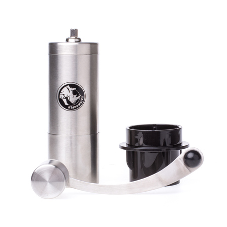 Rhinowares Hand Coffee Grinder - Młynek ręczny z adapterem do AeroPress (outlet)