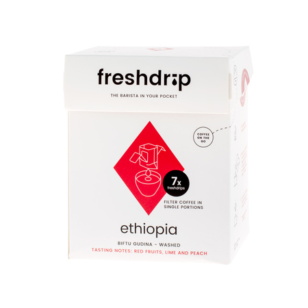Freshdrip - No.1 Ethiopia Biftu Gudina - 7 saszetek