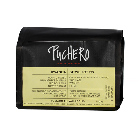 Puchero Coffee - Rwanda Gitwe Lot 129 Filter